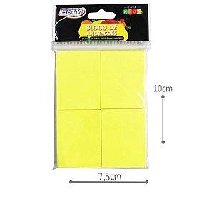 Bloco de Anotações - Amarelo Neon