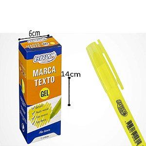 Marca Texto Gel Amarelo - 12 und