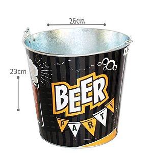 Balde Gelo Cerveja Decorado