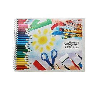 Caderno de Desenho - 96 folhas