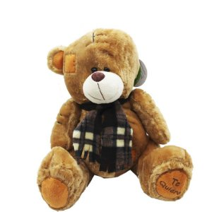 Urso de Pelúcia - Com Costura e Remendo