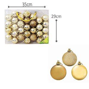 Kit Bolinhas Decorativas de Natal
