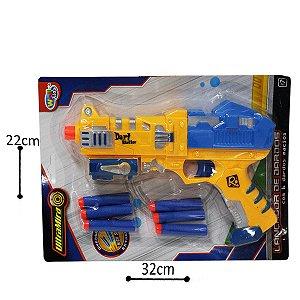 Pistola Lançador de Dardos - 6 pçs