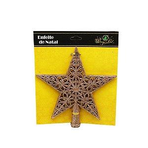 Ponteira para Árvore de Natal - Estrela