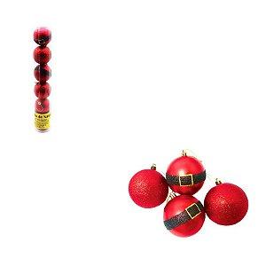 Kit Bola Roupa Noel
