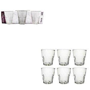 Conjunto Copo Vidro - 6 copos