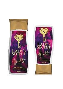 Kit Diva Afrodite Shampoo 300 ml + Condicionador 200 ml