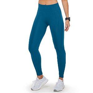 Calça Legging Fitness Rib Comfy Sem Costura
