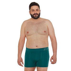 Cueca Boxer Sem Costura Verde