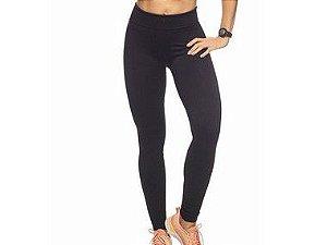 Calça Legging Fitness Sem Costura Preto