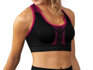 Top Fitness Discovery Dupla Face Magenta