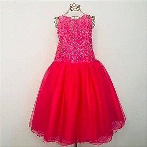 Vestido Pink Tule