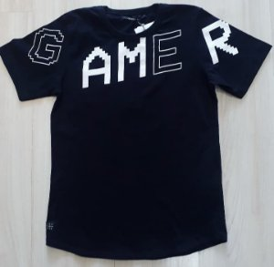 Camiseta MC Preta Gamer
