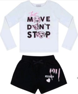 Conjunto Blusa ML Move / Shorts