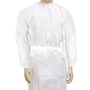 avental manga longa c/ punho c/ elástico TNTPct c/10und GR 40
