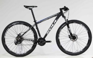 Bicicleta MTB Soul Black Rain