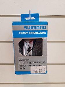 Câmbio Dianteiro Shimano Deore 3x10 FD-M610-B Dual