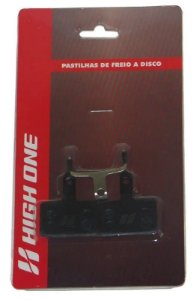 Pastilha de Freio High One Semi Metálica