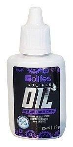 Lubrificante Óleo Solifes 100% Sintético 25ml