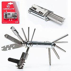Canivete Absolute YC-287 AS 12 Funções Com Extrator