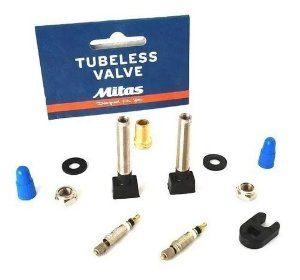 Kit Válvula Tubeless Mitas