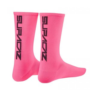 Meia Supacaz Straight Up Pink Neon P/m