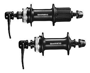 Cubo Shimano Altus Fh-tx505 8-9v 32f (par)