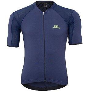 Camisa Marcio May Elite Marinho/Verde Masculina