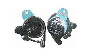 Cadeado Epic EPA570-10120 c/ Chave 12mm X 100cm