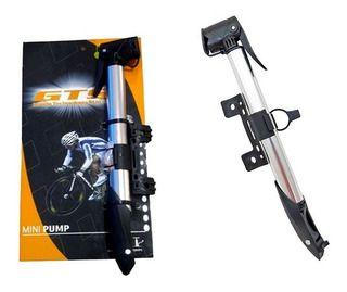 Bomba MTB/Speed GTS Mini Pump c/ Trava (Grosso/Fino)