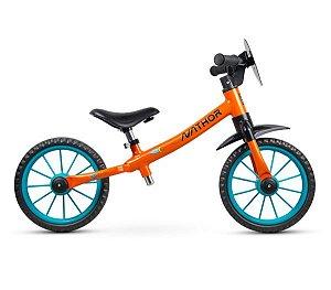 Bicicleta Infantil Nathor Balance Drop Rocket s/ Freios c/ Rolamento (equilíbrio)