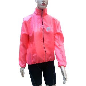 Corta Vento Stroll Cycling Fluor Rosa