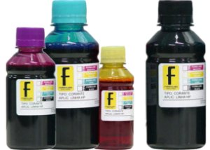 500ml de Tinta Canon Corante para Impressoras Cartuchos Bulk Ink Recarga Universal P/ Todos Modelos PRETO / AZUL / MAGENTA / AMARELO