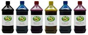 1 Litro de Tinta EPSON Corante para Impressoras Cartuchos Bulk Ink Recargas Universal para todos modelos PRETO / AZUL / MAGENTA / AMARELO / LIGHTS