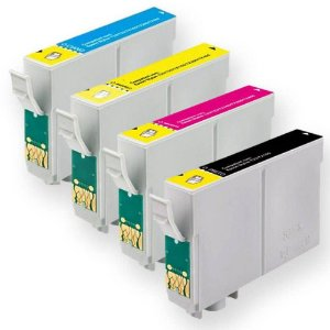 Kit 4 Cartuchos Compativeis para Impressoras Epson T196 197 P/ Xp204 214 Xp214 XP 214 204 104
