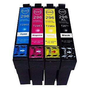 Cartucho de Tinta Compativel com Epson 296 297 Xp231 Xp241 Xp431 xp441 Impressora T XP 231 241 431 441 Alto Rendimento XL
