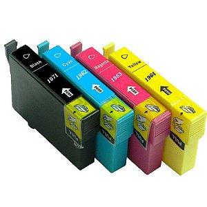 Cartucho P/ Impressora Epson 194 T194 196 197  Xp104 Xp204 Xp214 XP204 Tinta Compatível XP 104 204 214 204