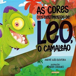 As cores dos sentimentos de Leo, o camaleão