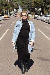 Jaqueta Jeans Comprida Forrada State One