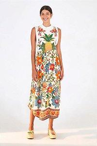 Vestido Silk Abacaxi Farm