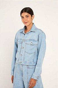 Jaqueta Cropped Refarm Jeans Farm