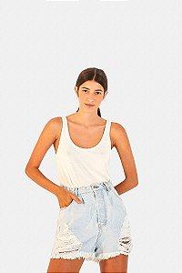 Shorts Jeans Oversized Rasgos Farm