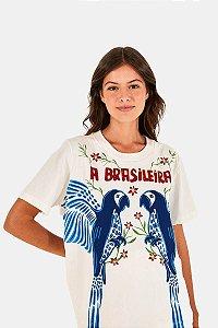T-shirt Fit Silk a Brasileira Farm