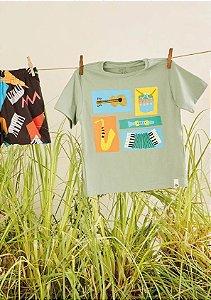Camiseta Silk Banda Fabula