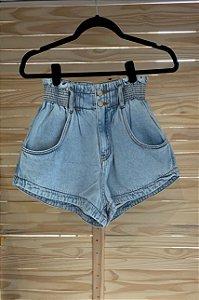 Short Jeans Franzido Farm