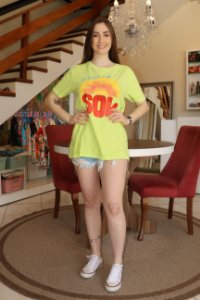 T-shirt Media Siga o Sol Farm