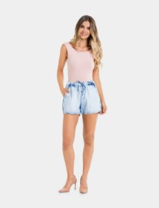 Shorts Jeans Claro Lunender