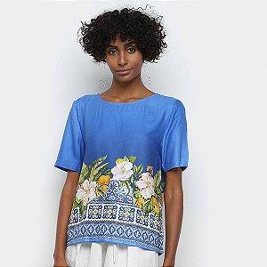 Blusa T-shirt Céu de Flor Farm