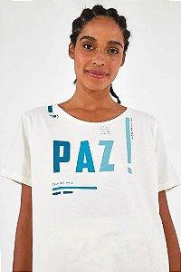 T-shirt Desejo Paz Farm