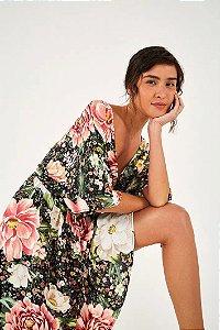 Vestido Curto Sonho de Flor Farm